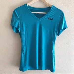 Fila Short Sleeve Athletic Top